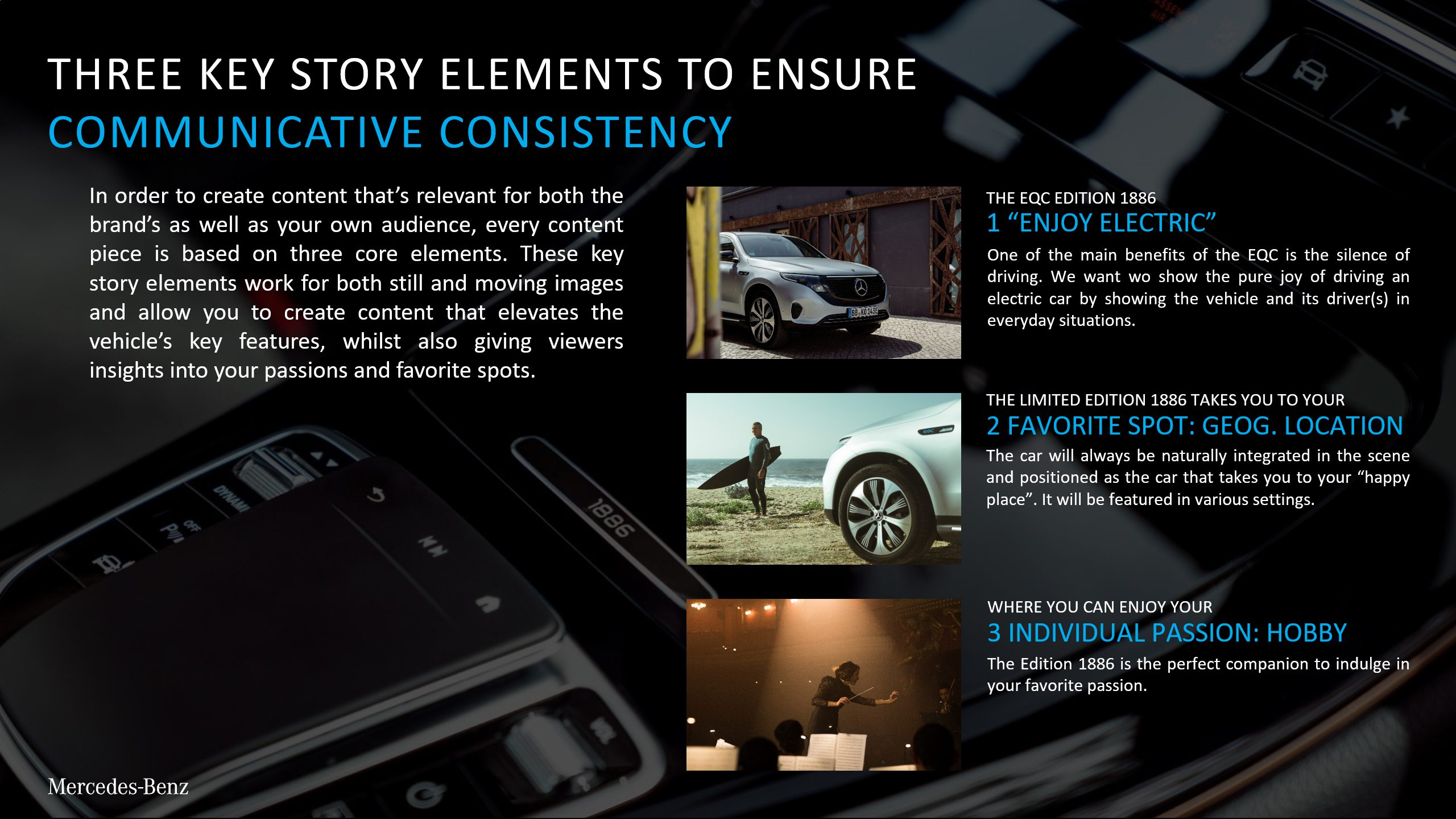 Mercedes PowerPoint Konsistenz