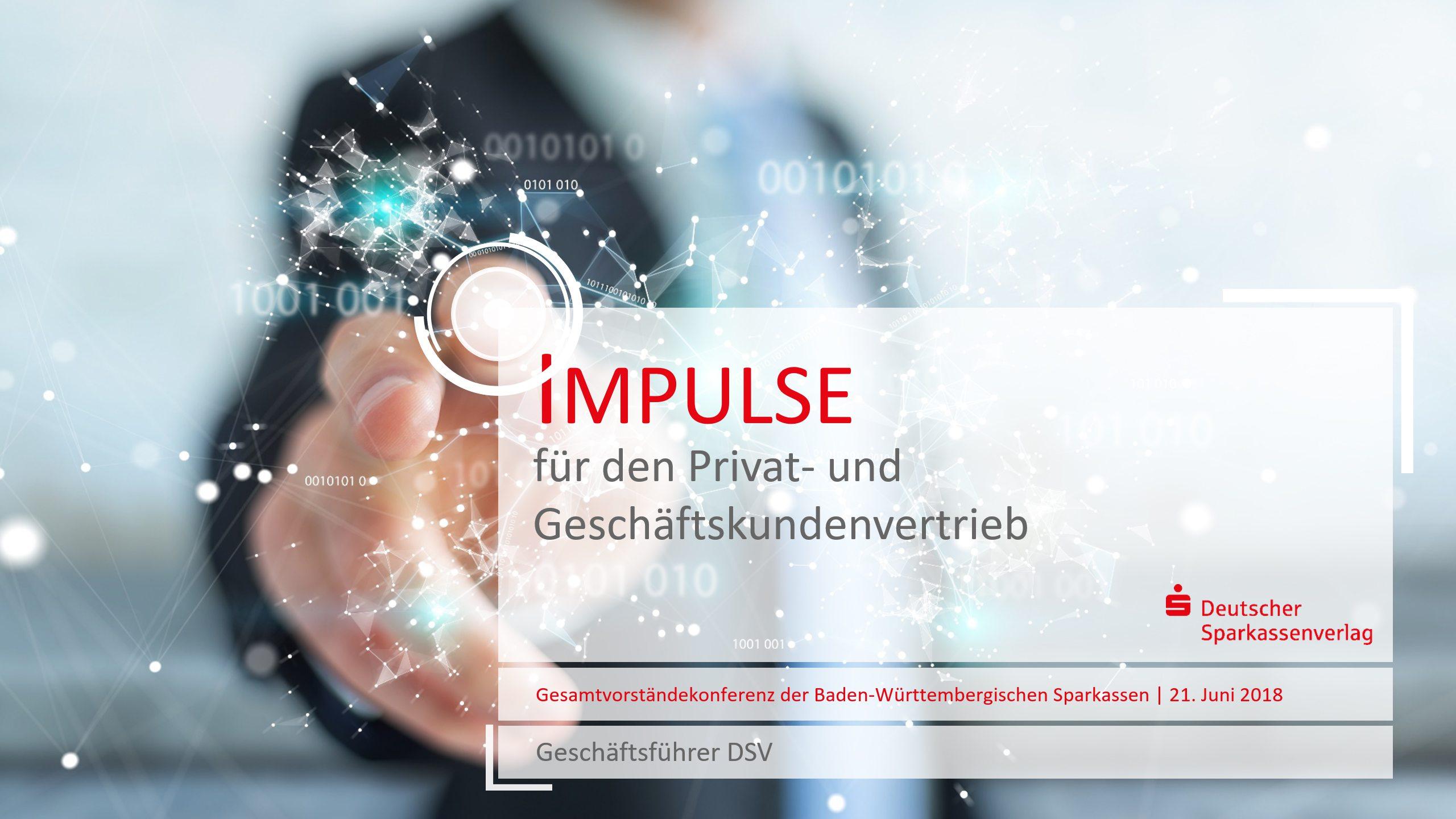 Deutscher Sparkassenverlag PowerPoint Titelfolie