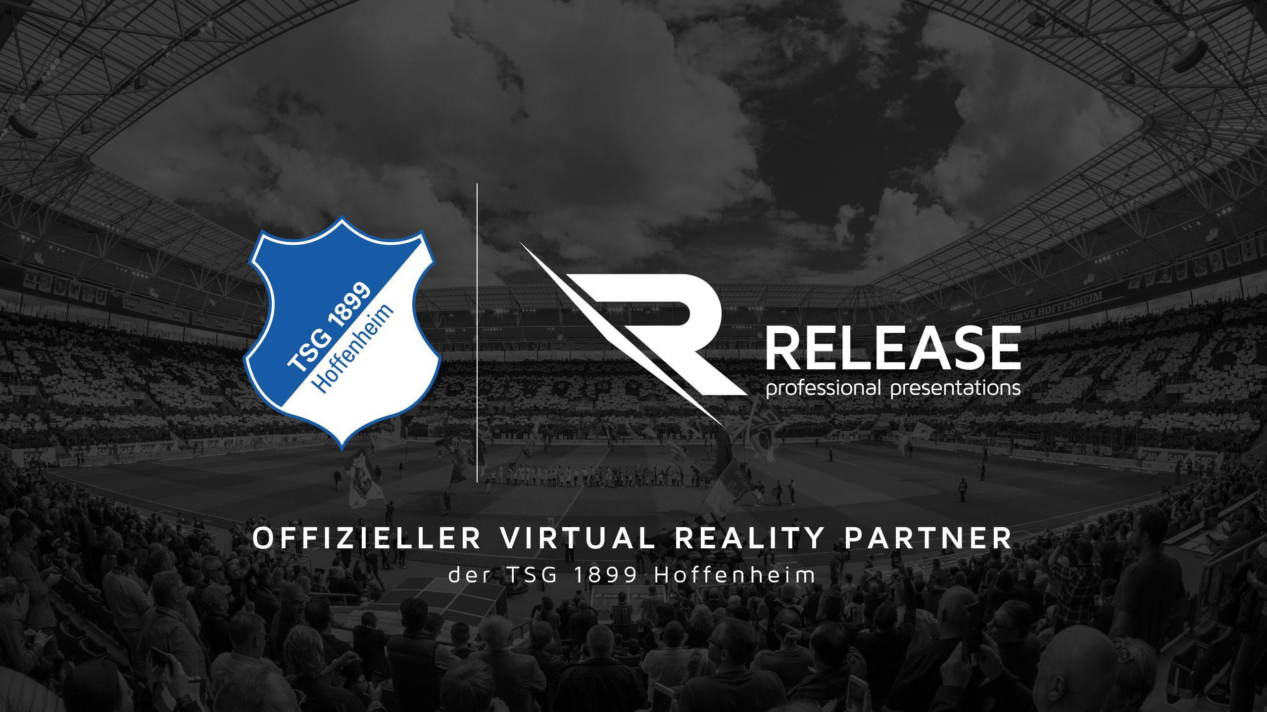 RELEASE ist der erste Virtual Reality Partner der Fußball Bundesliga